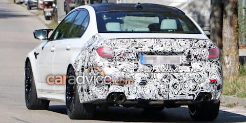 2020 BMW M5 facelift spied