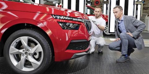Skoda Kamiq commences production
