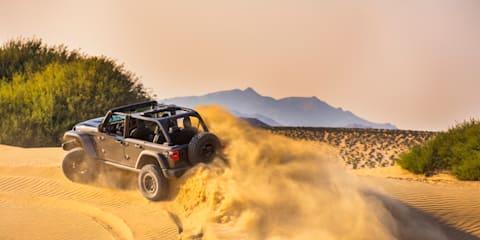 V8 Jeep Wrangler Rubicon 392 revealed