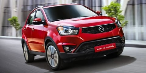 Ssangyong Korando: facelift for compact Korean SUV