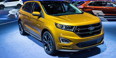 2016 Ford Kuga (Escape) facelift and Ford Edge : 2015 LA Auto Show