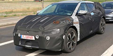 2021 Kia Imagine electric vehicle spy photos
