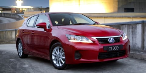 Lexus CT200h: hybrid hatch tweaked with extra features