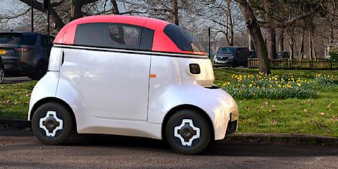 Gordon Murray Design reveals autonomous quadricycle