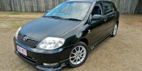 2003 Toyota Corolla Sportivo review
