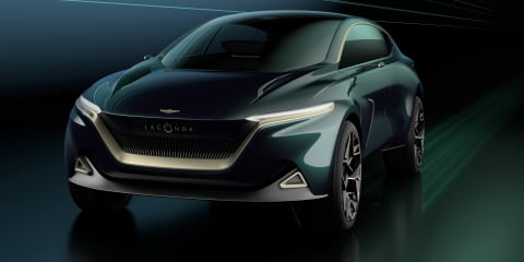 Aston Martin Lagonda 'All-Terrain Concept' revealed