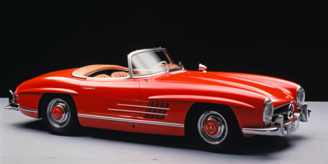 Rare Mercedes-Benz 300 SL toolkit for sale