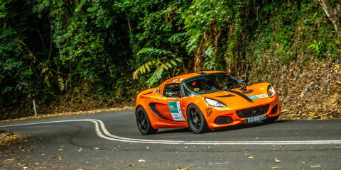 Targa Great Barrier Reef in a Lotus Elise