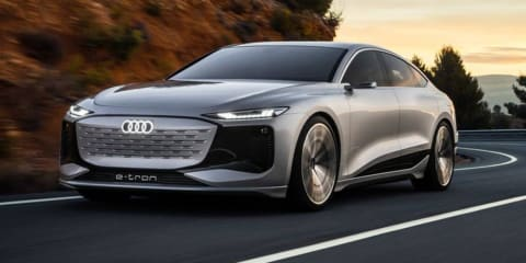 Audi A6 E-Tron Concept breaks cover ahead of Shanghai motor show
