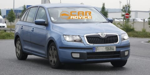 Skoda Rapid Spaceback: compact Czech wagon spied