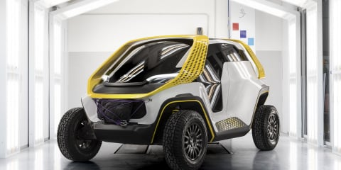 Six seats and a tiny footprint: Meet the Tracy concept