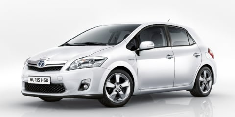 2010 Toyota Auris HSD among five European debuts at Geneva Motor Show