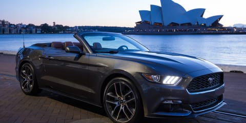 Ford Mustang pre-orders total about 1200 in Australia a year out from launch