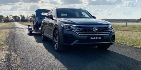 2020 Volkswagen Touareg towing review: 190TDI Premium