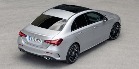 2019 Mercedes-Benz A-Class Sedan pricing and specs