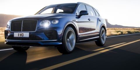 2021 Bentley Bentayga Speed revealed: Still bloody quick