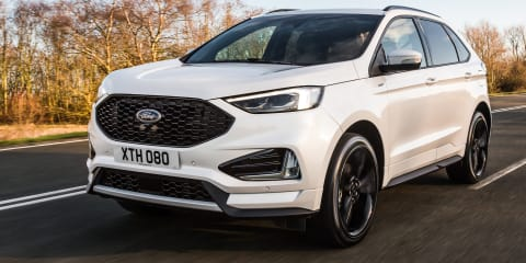 Ford Edge dropped in the UK