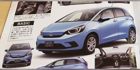 2020 Honda Jazz leaked ahead of debut