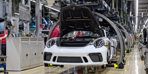 Porsche 911: Production of 991-generation ends