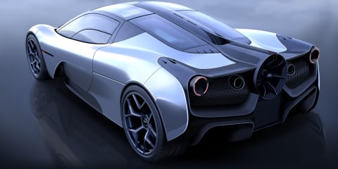 Gordon Murray Automotive T.50: the 980kg supercar