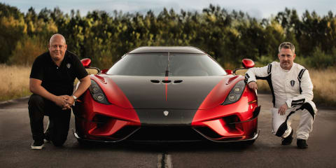 Koenigsegg Regera sets record 0-400-0km/h time