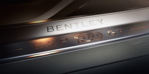 Bentley EXP 100 GT teased