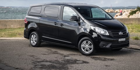 2020-2021 LDV G10 van recalled