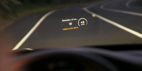 What is a heads-up display? HUD in the 2015 Mercedes-Benz C-Class C250