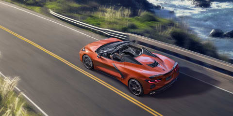 2020 Chevrolet Corvette Stingray convertible revealed