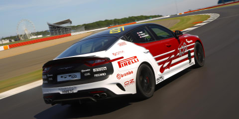Kia Stinger GT420 revealed in the UK