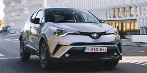 Toyota C-HR EV could be headed to Europe in 2021