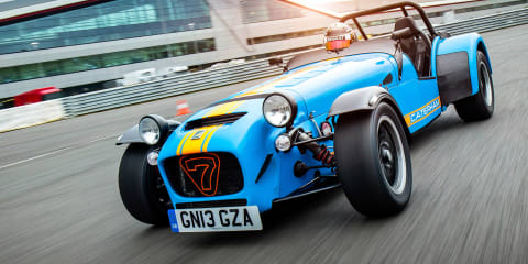 Electric Caterham Seven to launch in 2023 – report