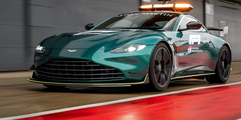 Aston Martin Vantage confirmed as official 2021 Formula One safety car