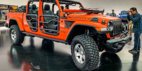 2019 Easter Jeep Safari Concepts, up close and personal