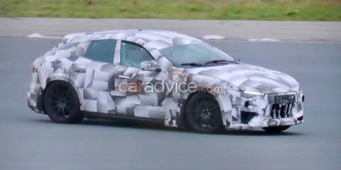 2022 Ferrari Purosangue SUV caught on camera again