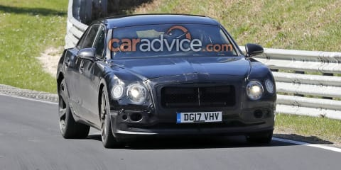 2019 Bentley Flying Spur hits the Nurburgring