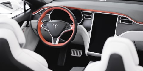 Tesla Model S convertible unveiled by Ares Design
