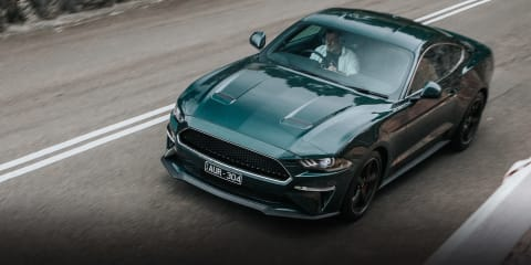 Ford Mustang Bullitt review: Cruising Sydney by night