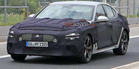 2021 Genesis G70 spy photos - update