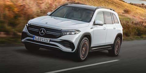 2022 Mercedes-Benz EQB unveiled, Australian launch due 2022