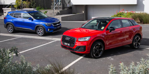 Compact SUV review: 2020 Kia Seltos v Audi Q2 comparison