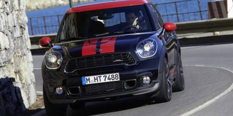 Mini Paceman JCW priced at $58,600