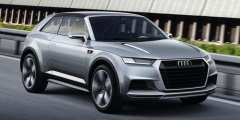 Audi Crosslane Coupe signals shift to greater design differentiation