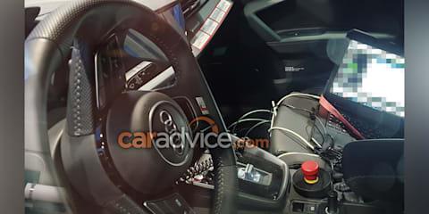 2020 Audi S3 interior spied