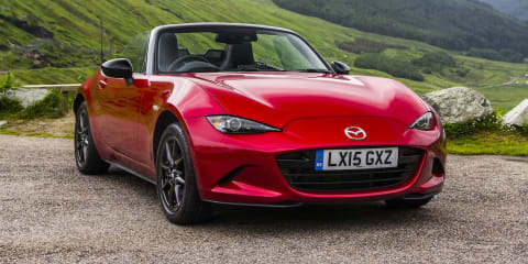 2015 Mazda MX-5 Review : Scotland first drive