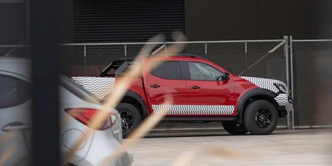 2021 Nissan Navara Pro-4X Warrior caught on camera