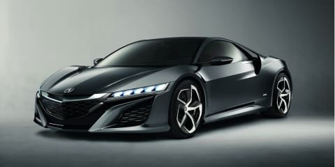 Honda NSX concept: next-gen Japanese icon confirmed for 2015
