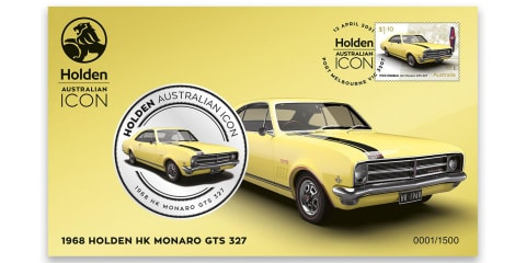Holden honoured by Australia Post