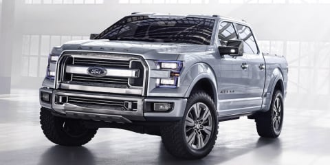 Ford Atlas concept teases new F-150