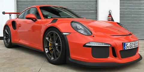 2016 Porsche GT3 RS lap of Kyalami Grand Prix Circuit
